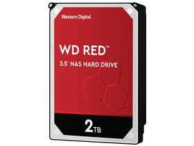 "WD 3,5"" 2TB SATA3 5400rpm 256MB Red merevlemez - WD20EFAX (Western Digital)"