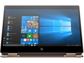 "Notebook HP Spectre x360 13-AP0002NH 13,3"" 5WA73EA#AKC FHD, argintiu + Windows 10 Home (tastatura layout HU)"
