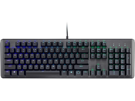 Tastatura mecanica RGB gamer  Cooler Master CK550 Brown Switch ( tastatura layout HU)