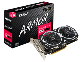 Placa video MSI PCI-Ex16x AMD RX 570 ARMOR 8GB DDR5 (RX 570 ARMOR 8G OC)
