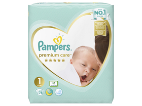 Pampers Premium Care Value Pack nuamrul 1, 78 bucati
