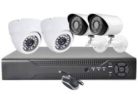 Global HD7004+2XC153+2XC352 infra kamera set, DVR funkcija