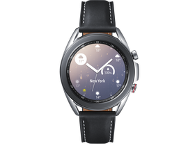 Samsung Galaxy Watch Active 3 eSIM okosóra, 41 mm, ezüst