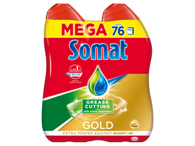 Somat Gold Gel Anti-Grease Gel za pranje posuđa, 2x684ml