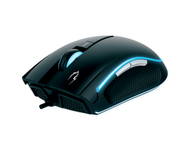 Mouse Gamdias ZEUS E1 gamer + mouse pad