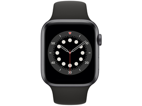 Apple Watch Series 6 GPS, 44mm, space grau