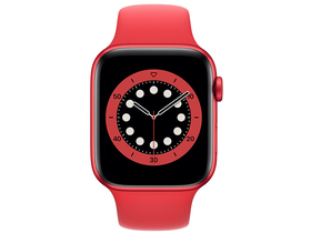 Apple Watch Series 6 GPS, 44mm, Red (M00M3HC/A)