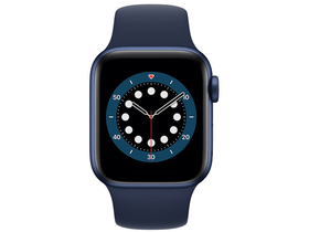 Apple Watch Serie 6 GPS, 40mm, blau