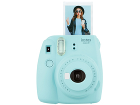 Aparat foto analog Fujifilm Instax Mini 9, ice blue