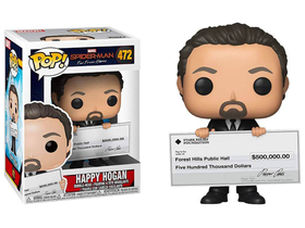 POP Movies Marvel Spider-Man: Far From Home - Happy Hogan Figur (47031)