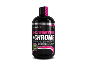 BioTech USA L-Carnitine + Chrome, 500 ml