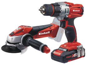Einhell TE-TK 18 Li Kit (CD+AG) akumulatorski set