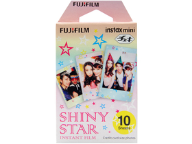 Fuji Colorfilm Instax Mini Shiny Star film, 10 db