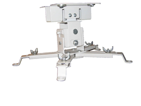 Suport proiector Funscreen ceiling mount length 130 mm, alb