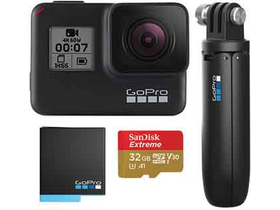 GoPro Hero7 Black Bundle (+ GoPro Akku + GoPro Shorty + 32GB SanDisk microSD)