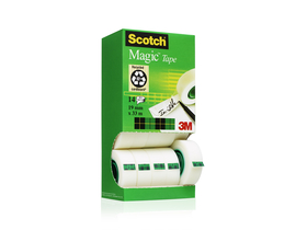 3M/SCOTCH 19mm x 33m Magic Tape ljepljiva traka 12+2 komada