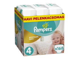 Pampers Premium Care Monthly Box 4 maxi, 168 Stück