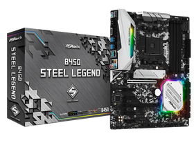 ASRock sAM4 B450 Steel Legend Mainboard