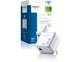 Devolo D 9082 dLAN 500 WiFi Powerline adaptér