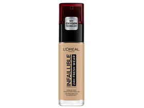 Fond de ten fluid L`Oréal Paris Infaillible 24H Freshwear 140 Golden Beige , 30 ml