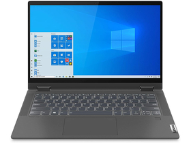 Lenovo Ideapad Flex 5 81X1004KHV FHD Touch notebook, grafit szürke + Windows 10 Home