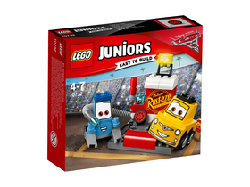LEGO® Juniors 10732 Guido and Luigi's Pit Stop
