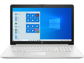 HP 17-by3002nh 208A7EA#AKC notebook, HUN, strieborný + Windows10