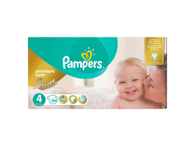 Pampers Premium Mega Box pelenka 4 CareMaxi 104 db