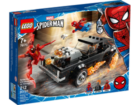 LEGO®  Super Heroes 76173 Spider-Man and Ghost Rider vs. Carnage