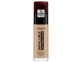 L`Oréal Paris Infaillible 24H Fresh Wear 220 Sand  tečni puder, 30 ml
