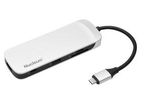 Kingston  Nucleum G1 Type-C USB 3.1 adapter, fehér (C-HUBC1-SR-EN)