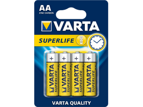 Varta Superlife R6 AA batéria, 4 ks