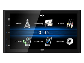 JVC KW-M25BT 2 DIN Bluetooth мултимедийно устройство