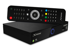 Strong SRT 2402 Android 7.1 4K Ultra HD IP box, čierny