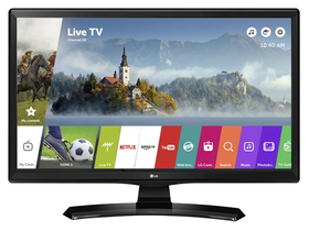TV monitor LG 24MT49S IPS WebOs 3.5 SMART LED