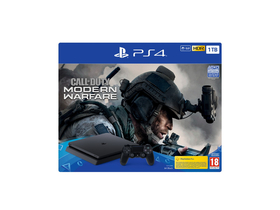 PlayStation® PS4 Slim 1TB játékkonzol Call Of Duty Modern Warfare 4 játékszoftverrel