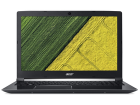 "Acer Aspire A715-72G-71S3 NH.GXBEU.003 15,6"" gamer notebook, fekete"