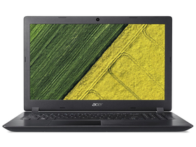 Acer Aspire 3 A315-53-31YZ notebook, fekete