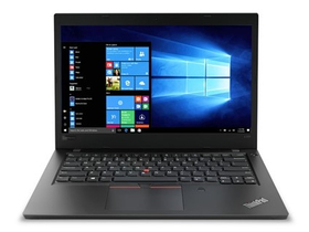Notebook Lenovo ThinkPad L480 20LS0022HV, negru + Windows 10 Pro (tastatura layout HU)