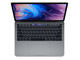 "Apple MacBook Pro 13"" Touch Bar/2.4GHz/Intel Core i5/512GB/Intel Iris Plus Graphics 655/magyar (HUN) bill., space grey"