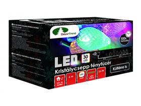Dekortrend KDE 035 Kristálycsepp kültéri LED fényfüzér 36e9f5a907