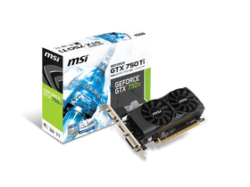 Placa video MSI nVidia GTX 750 Ti 2GB GDDR5  - N750Ti-2GD5TLP