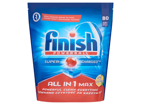 Finish All in 1 Max Geschirrspülertabs,  Zitrone (80Stk.)