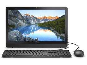 "PC Dell Inspiron AIO 3264 21.5"" FHD Intel Pentium (2.30 GHz), 8GB, 1TB, Linux, negru, layout tastatura HU"