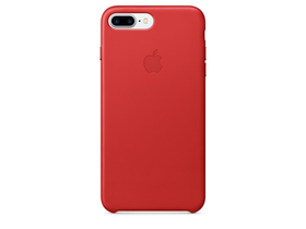Apple iPhone 7 Plus bőrtok, (PRODUCT)RED (mmyk2zm/a)