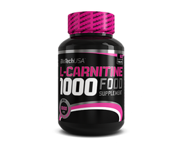 BioTech USA L-Carnitine 1000 mg, 60 ks