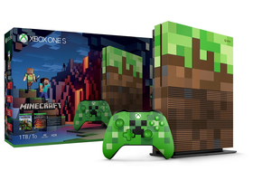 Xbox One S 1TB Minecraft Limited Edition játékkonzol