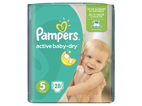 Pampers Active Baby Carry pack pelene junior 28 komad