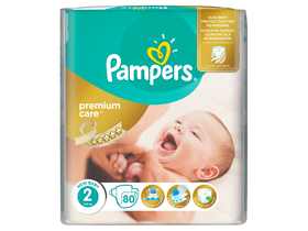 Pampers Premium Value Pack Einwegwindel 2 Mini, 80 Stk.