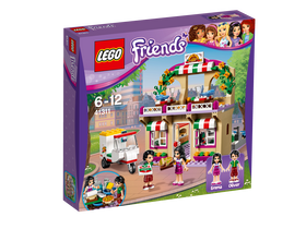 LEGO® Friends pizzéria v mestečku 41311